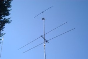 CCW HF Active Loop Antenna on Mast