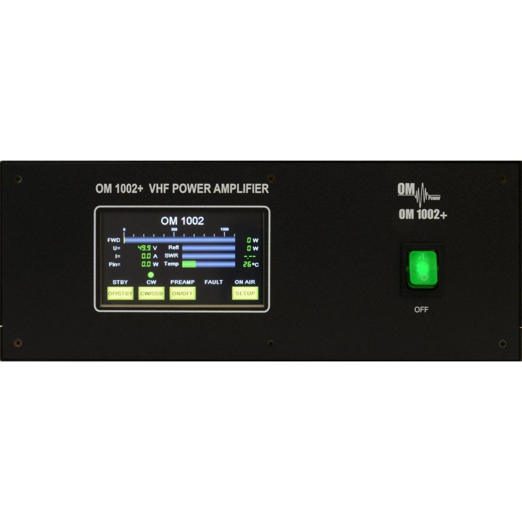 OM1002+ 1kW VHF Power Amplifier